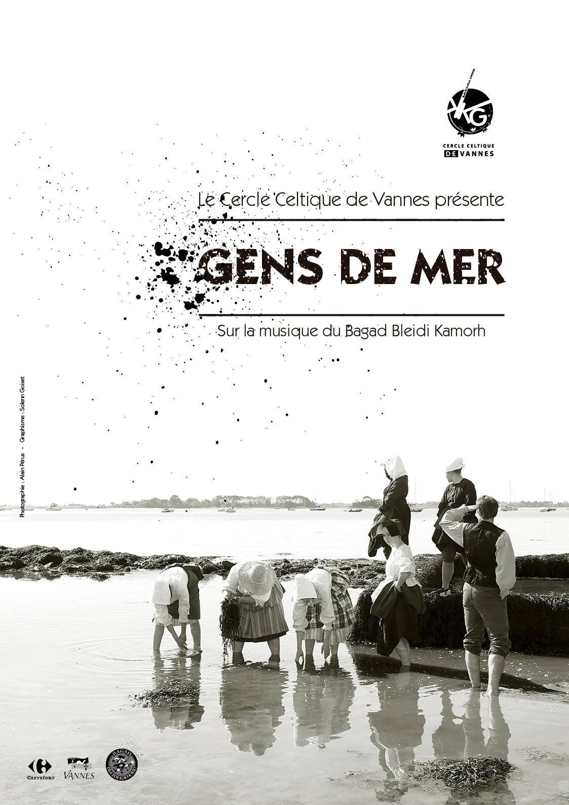 Spectacle 2019 : Gens de mer - Cercle celtique Vannes