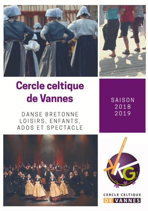 Flyer présentation 18 19 - Cercle Celtique Vannes
