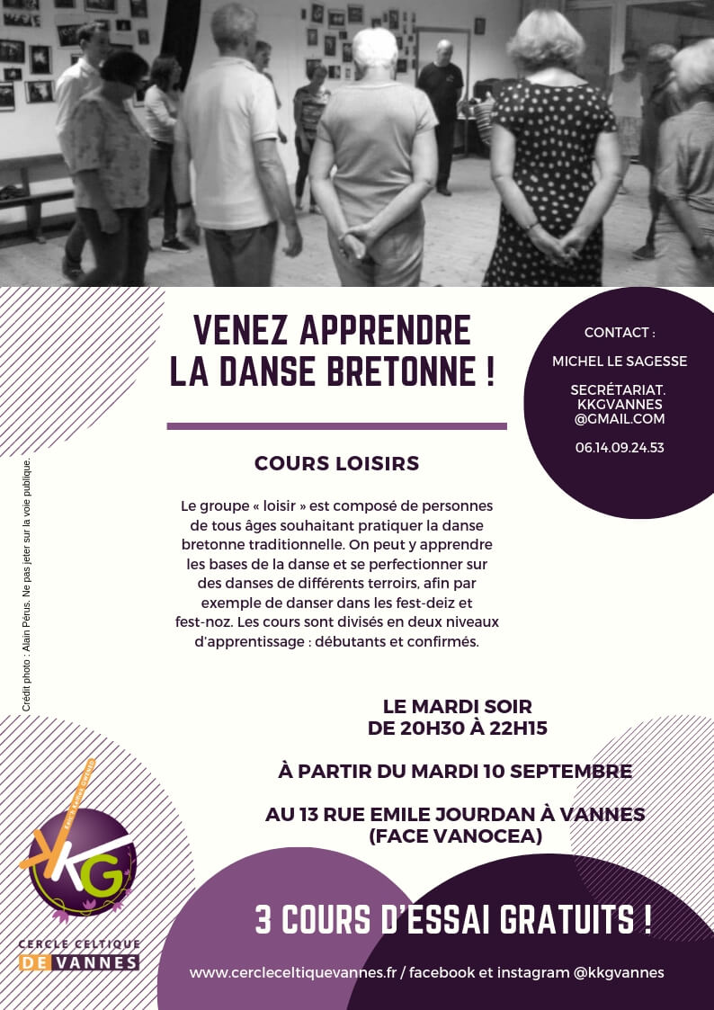 Cours loisirs 2019 - 2020 / Flyer