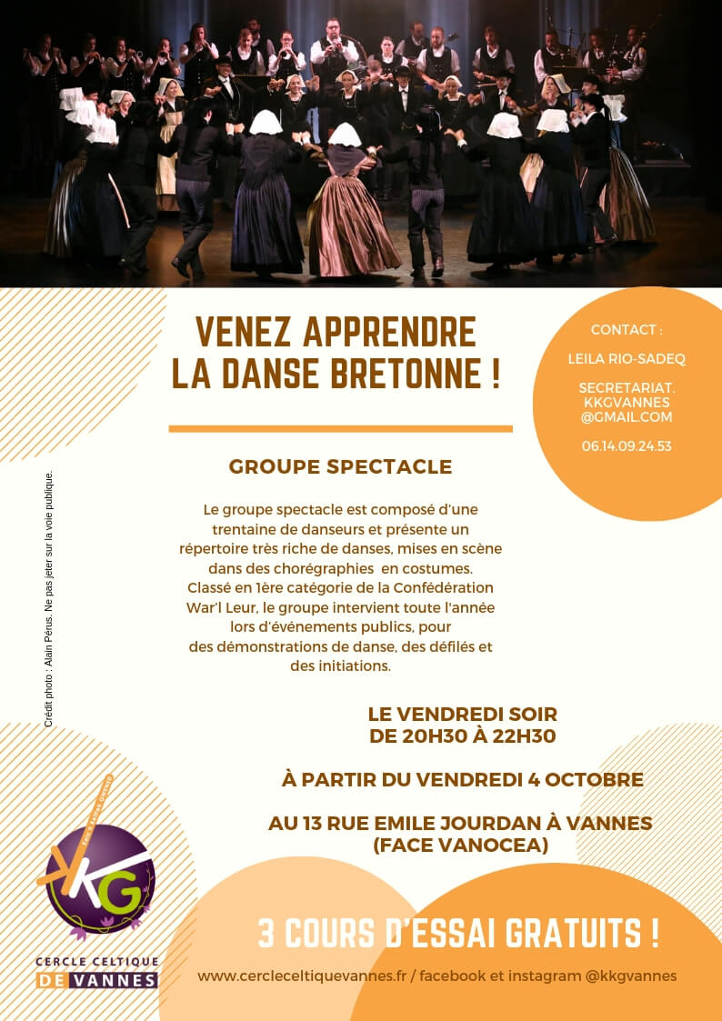 Cours spectacle 2019 - 2020 / Flyer
