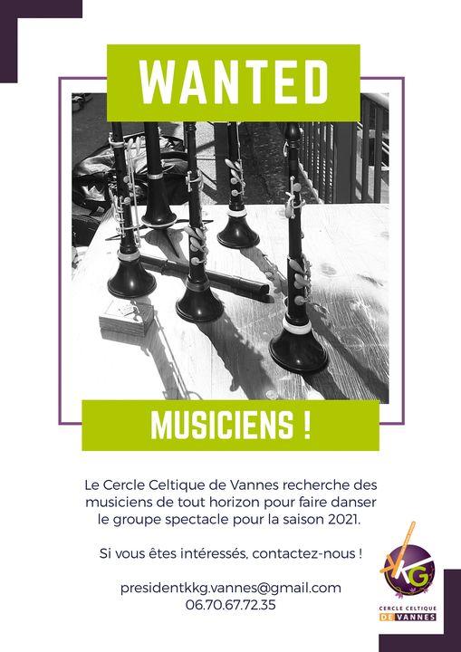 recherche musiciens