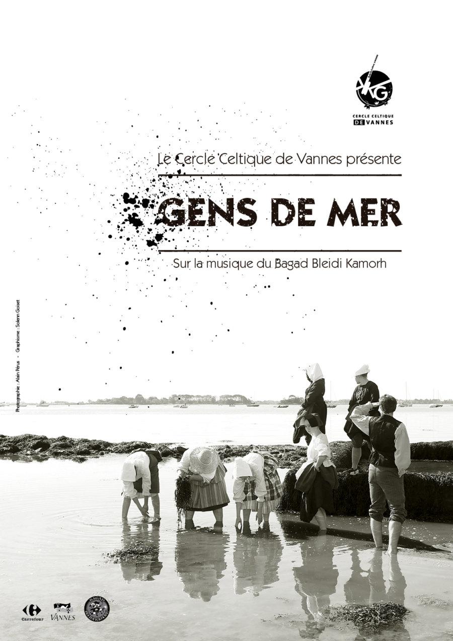 """Affiche 2019 """"Gens de mer"""""""